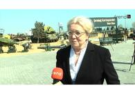 """Aghdam needs to be fully rebuilt - German historian <span class=""""color_red"""">[VIDEO]</span>"""