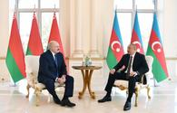 """Azerbaijani, Belarus presidents hold one-on-one meeting <span class=""""color_red"""">[UPDATE]</span>"""