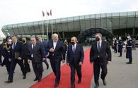 "Working visit of President of Belarus in Azerbaijan ends <span class=""color_red"">[PHOTO]</span>"