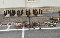 "Police seize Armenian-left weapons in liberated Fuzuli, Gubadli <span class=""color_red"">[PHOTO/VIDEO]</span>"