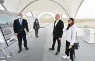 "President Aliyev lays foundation of new tourism complex in Absheron <span class=""color_red"">[UPDATE]</span>"