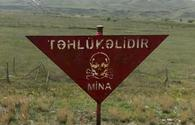 Mine clearance for smart village project underway in liberated Zangilan