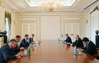 "President Aliyev receives delegation led by Lithuanian FM <span class=""color_red"">[UPDATE]</span>"