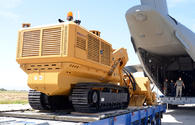 "Azerbaijan gets new batch of mine-clearance equipment from Turkey <span class=""color_red"">[PHOTO/VIDEO]</span>"