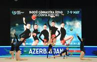 "National team reaches Rhythmic Gymnastics World Cup final <span class=""color_red"">[PHOTO]</span>"