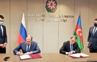 "FMs of Azerbaijan, Russia sign plan of consultations for 2021-2022 <span class=""color_red"">[PHOTO]</span>"