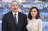 "Azerbaijani president, First lady attend opening of Khary Bulbul festival in Shusha <span class=""color_red"">[UPDATE]</span>"