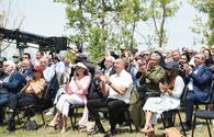 "Azerbaijani president, first lady watch performance of Kharibulbul festival participants <span class=""color_red"">[UPDATE]</span>"