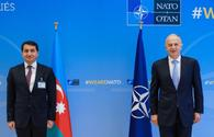 Presidential aide meets NATO, EU officials in Brussels