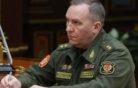 Belarusian Defense Minister arrives in Azerbaijan on official visit