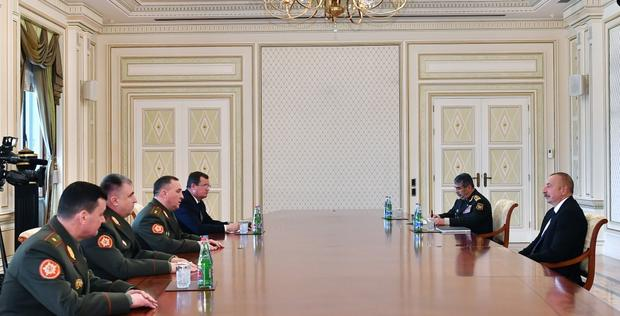 """Ilham Aliyev: Azerbaijan, Belarus set to continue cooperation in all spheres <span class=""""color_red"""">[UPDATE]</span>"""