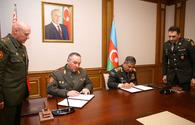 """Azerbaijan, Belarus sign military cooperation plan for 2021 <span class=""""color_red"""">[PHOTO/VIDEO]</span>"""