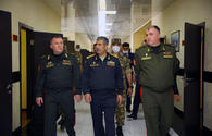 """Azerbaijani, Belarus defence cheifs visit military units <span class=""""color_red"""">[PHOTO/VIDEO]</span>"""