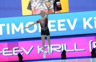 Finalists in individual program among men at Aerobic Gymnastics World Age Group Competition in Baku announced