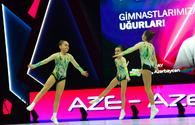 """Best moments of first day of Aerobic Gymnastics World Age Group Competition in Baku <span class=""""color_red"""">[PHOTO]</span>"""