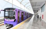 Azerbaijan announces construction of new ground metro station in Baku