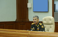 Defence chief orders commanders to suppress Armenia's provocations