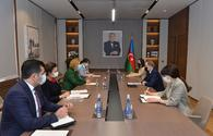 """Azerbaijan, WHO mull co-op, fight against COVID-19 <span class=""""color_red"""">[PHOTO]</span>"""