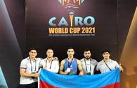 National gymnast wins silver in Egypt