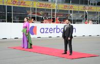 """Azerbaijani National Anthem performed at F1 Grand Prix in Baku <span class=""""color_red"""">[PHOTO/VIDEO]</span>"""