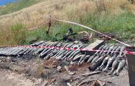 """Armenian munitions seized in liberated Khojavand <span class=""""color_red"""">[PHOTO/VIDEO]</span>"""