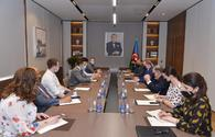 """Azerbaijani Foreign Minister meets UK delegation <span class=""""color_red"""">[PHOTO]</span>"""