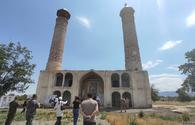 """Foreign diplomats witness Armenian-inflicted destruction in Aghdam <span class=""""color_red"""">[PHOTO]</span>"""