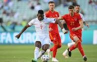 Wales-Switzerland match ends in draw within EURO 2020 in Baku