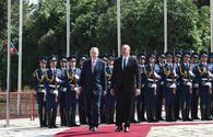 """Official welcoming ceremony for Turkish president in Shusha - HISTORIC EVENT <span class=""""color_red"""">[PHOTO]</span>"""
