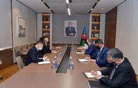 """FM informs Mongolian ambassador about Armenia's aggressive policy against Azerbaijan <span class=""""color_red"""">[PHOTO]</span>"""