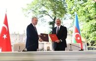 """Azerbaijan, Turkey signed Shusha Declaration on allied relations <span class=""""color_red"""">[PHOTO]</span>"""