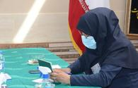 """Iranians in Azerbaijan voting at Iran's presidential election <span class=""""color_red"""">[PHOTO]</span>"""
