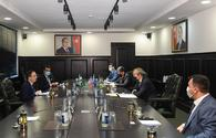 """Azerbaijan, Pakistan discuss co-op on projects to be implemented in liberated lands <span class=""""color_red"""">[PHOTO]</span>"""