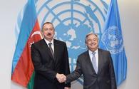 """Aliyev: Azerbaijan backs UN performance in addressing global challenges <span class=""""color_red"""">[UPDATE]</span>"""