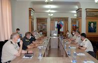 """Delegation of NATO Allied Land Command visits Military Academy of Azerbaijani Armed Forces <span class=""""color_red"""">[PHOTO]</span>"""