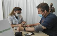 """Mobile vaccination arranged in Baku <span class=""""color_red"""">[PHOTO/VIDEO]</span>"""