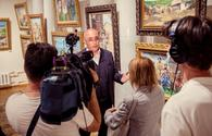 """Baku-born artist's work showcased in Russian State Museum <span class=""""color_red"""">[PHOTO/VIDEO]</span>"""