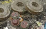 About 300 mines, unexploded ordnance seized in Karabakh