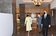 """President Aliyev attends opening of Courtyard by Marriott Baku hotel <span class=""""color_red"""">[PHOTO]</span>"""