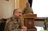 Presidential aide visits military unit in Nakhchivan