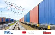Some 222 containers transported within TURKUAZ project in June