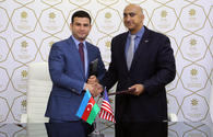 """Azerbaijan, US ink MoU on cooperation in SMBs <span class=""""color_red"""">[PHOTO]</span>"""