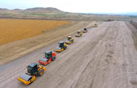 Azerbaijan constructs new road in liberated territories