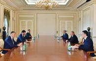 """President Aliyev receives mayor of Tbilisi <span class=""""color_red"""">[UPDATE]</span>"""