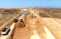 Construction of new highway in liberated lands underway