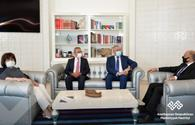 """Culture Ministry, UNESCO discuss Azerbaijan's cultural heritage <span class=""""color_red"""">[PHOTO]</span>"""
