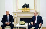 """President Ilham Aliyev arrives on working visit to Russia <span class=""""color_red"""">[PHOTO]</span>"""
