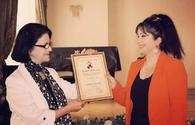 """National composer awarded in Baku <span class=""""color_red"""">[VIDEO]</span>"""