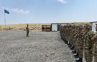 Azerbaijan opens two military units in liberated Khojavend