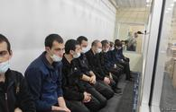 Trial of Armenian terrorist group members continues at Baku Court on Grave Crimes
